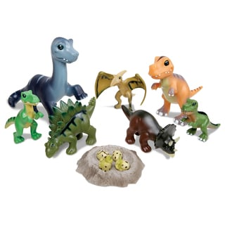 Smithsonian 8-Piece Baby Dinosaur Collection