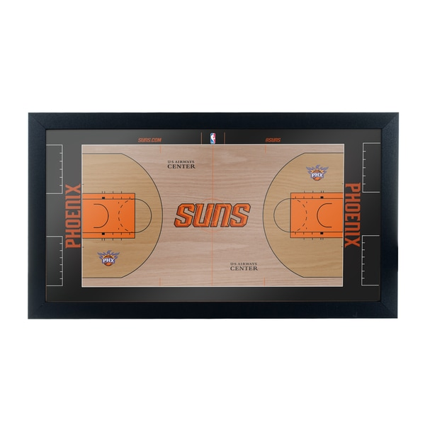 Phoenix Suns Official NBA Court Framed Plaque