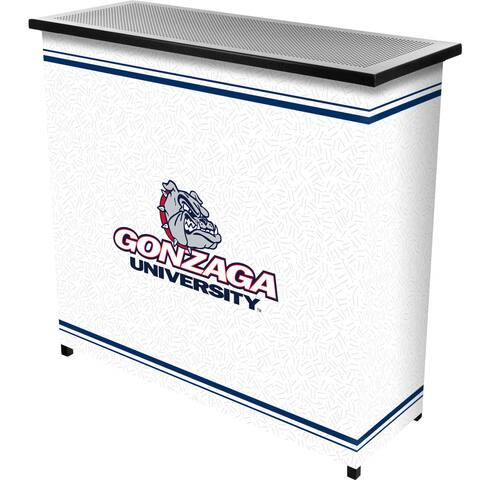 Gonzaga University 2 Shelf Portable Bar w/ Case