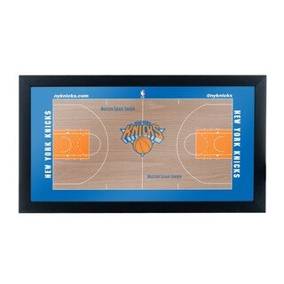 New York Knicks Official NBA Court Framed Plaque