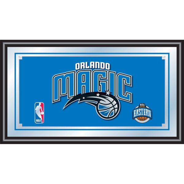 Orlando Magic NBA Framed Logo Mirror
