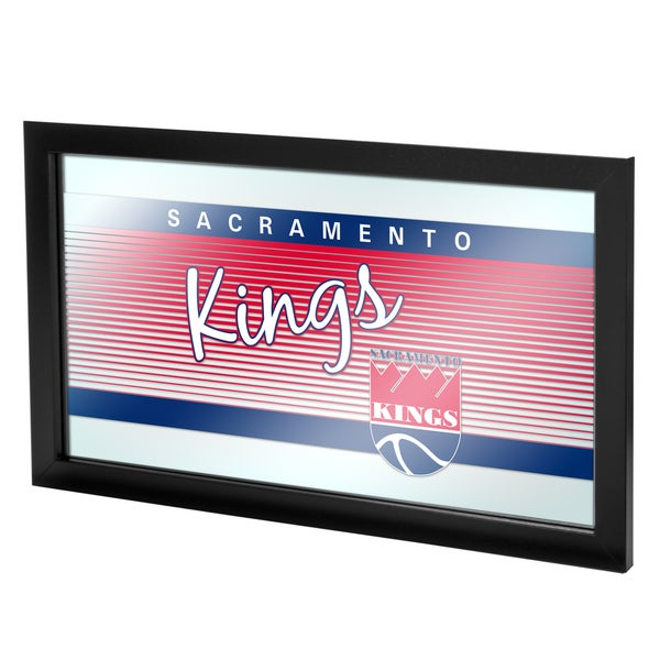 Sacramento Kings Hardwood Classics NBA Logo Mirror
