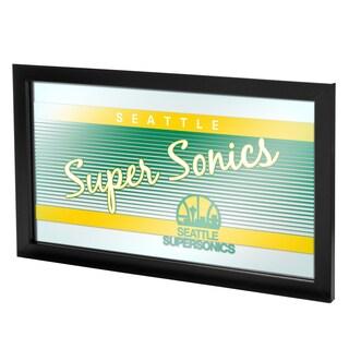 Seattle Super Sonics Hardwood Classics NBA Logo Mirror
