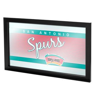 San Antonio Spurs Hardwood Classics NBA Logo Mirror