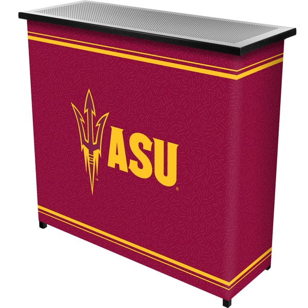 Arizona State University 2 Shelf Portable Bar w/ Case