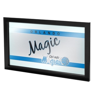 Orlando Magic Hardwood Classics NBA Logo Mirror