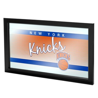 New York Knicks Hardwood Classics NBA Logo Mirror