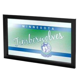 Minnesota Timberwolves Hardwood Classics NBA Logo Mirror