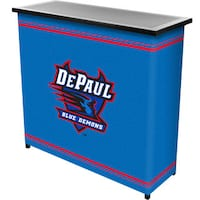 DePaul University 2 Shelf Portable Bar w/ Case