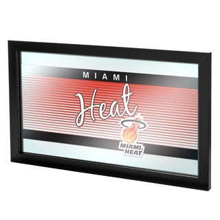 Miami Heat Hardwood Classics NBA Logo Mirror