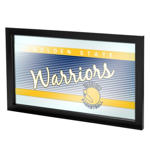 Golden State Warriors Hardwood Classics NBA Logo Mirror