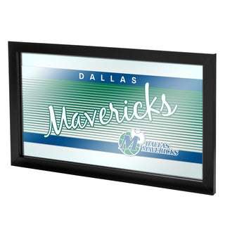 Dallas Mavericks Hardwood Classics NBA Framed Logo Mirror