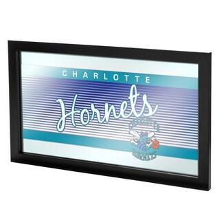 Charlotte Hornets Hardwood Classics NBA Framed Logo Mirror