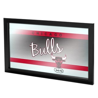 Chicago Bulls Hardwood Classics NBA Framed Logo Mirror