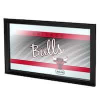 Chicago Bulls Hardwood Classics NBA Framed Logo Mirror