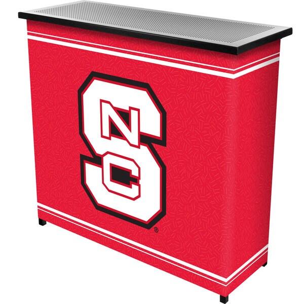 North Carolina State 2 Shelf Portable Bar w/ Case