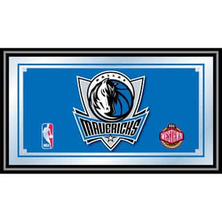 Dallas Mavericks NBA Framed Logo Mirror|https://ak1.ostkcdn.com/images/products/10654873/P17721442.jpg?impolicy=medium