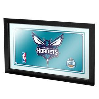 Charlotte Hornets NBA Framed Logo Mirror