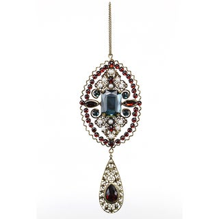 Sage & Co. 6-inch Beaded Rhinestone Ornament
