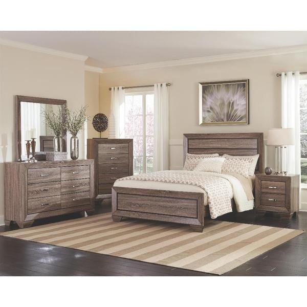 Pierson 6 piece bedroom set free shipping today for Bedroom 6 piece set