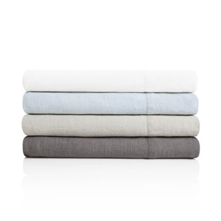 Woven Pure French Linen Sheet Set