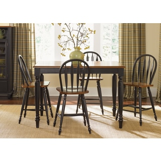 Farmhouse Country Anchor Black and Bronze Gathering Table