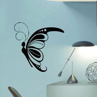 Butterfly Wings Vinyl Wall Art Decal Sticker