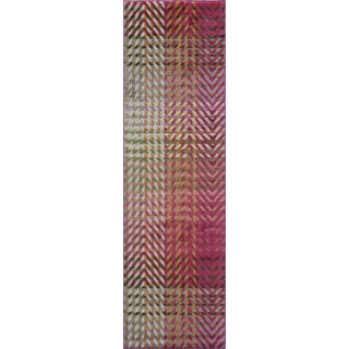 Abode Multi Power-Loomed Arrow Rug (2'3 x 8')