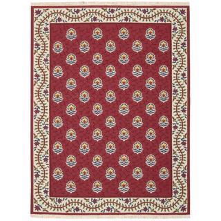 Nourison Nourmak Encore Red Rug (5'6 x 7'5)