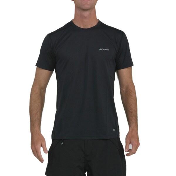 cde1ef2b Shop Columbia Men's Black Mountain Tech II T-shirt - Free Shipping ...
