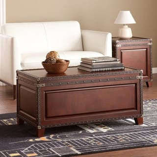 Harper Blvd Ailsa Trunk Cocktail  Coffee Table Trunks Living Room Furniture For Less Overstock com