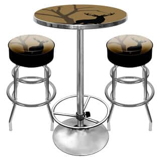 Hunt Deer Combo - 2 Bar Stools and Table|https://ak1.ostkcdn.com/images/products/10655389/P17721912.jpg?impolicy=medium