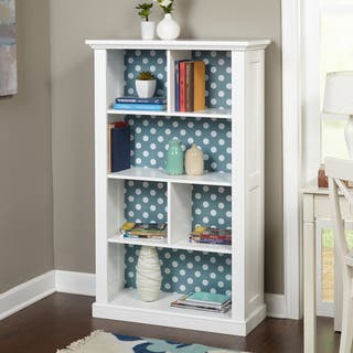 Simple Living Ella Bookcase with Reversible Back Panel|https://ak1.ostkcdn.com/images/products/10655429/P17721935.jpg?impolicy=medium