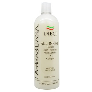 La-Brasiliana Dieci All-In-One 33.8-ounce Instant Hair Treatment