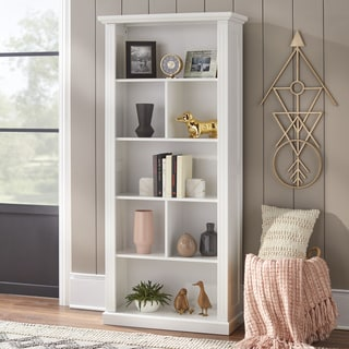 Simple Living Holland White Bookcase. Simple Living Living Room Furniture   Shop The Best Brands Today