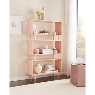 Simple Living Margo Mid-Century 3-Shelf Bookshelf