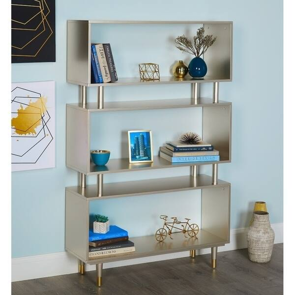 Swell Shop Simple Living Margo Mid Century 3 Shelf Bookshelf On Lamtechconsult Wood Chair Design Ideas Lamtechconsultcom