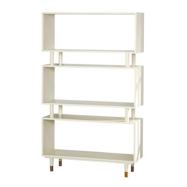 simple living margo midcentury 3shelf bookshelf free shipping today