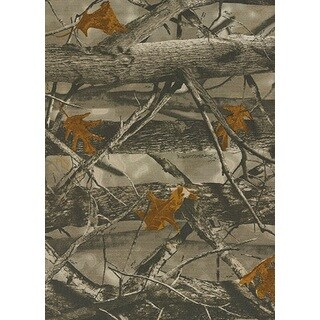True Timber x D3 Grey Camouflage Accent Rug (1'8 x 2'7)