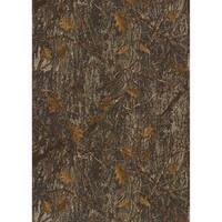 True Timber Conceal Camouflage Accent Rug (3'3 x 4'11) - 3'3 x 4'11