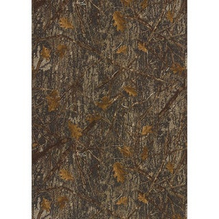 True Timber Conceal Camouflage Area Rug (5'1 x 6'10)