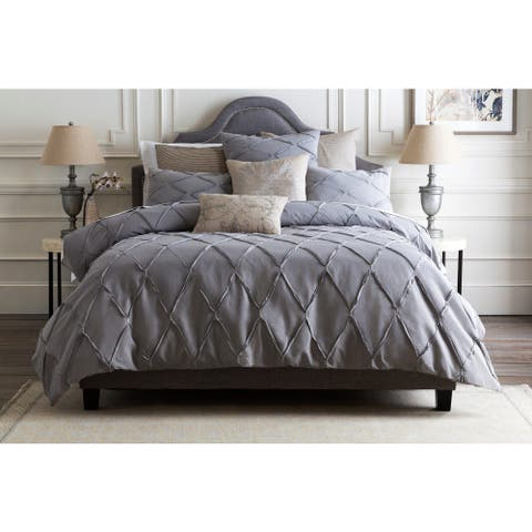 Garcia Solid Color Cotton/Linen Duvet Cover