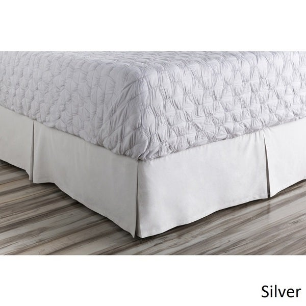 Sheena Floral  Linen/Cotton Bed Skirt