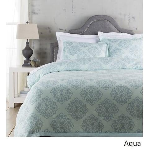 Sheena Floral Linen/ Cotton Duvet Cover