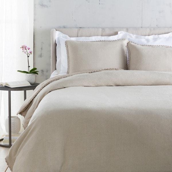 Sidney Solid Color Linen Duvet Cover
