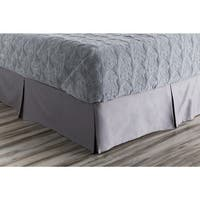 Tanner Solid Cotton Bedding Skirt