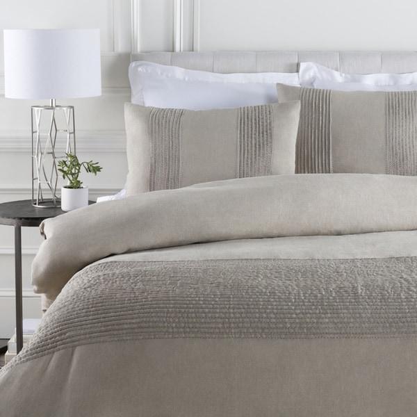 Coburn Solid Color Linen Duvet Cover