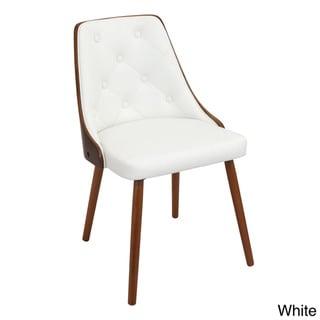 Gianna Mid Century Modern Walnut Wood Dining Chair