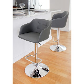Campania Contemporary Adjustable Height Barstool