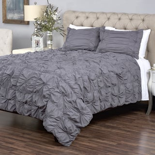 Sweet Dreams Charcoal Collection 3 piece Quilt Set by Arden Loft (2 options available)